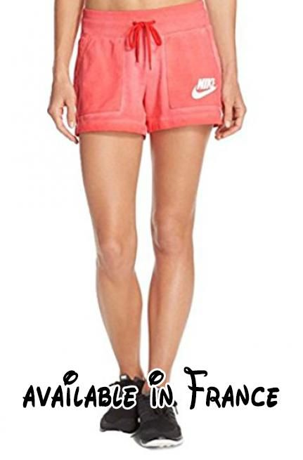 B015PILJN8 : Nike - Short - Femme - rose - Medium.