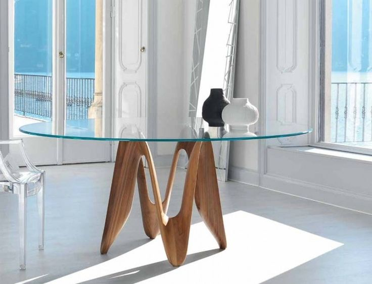 Glass Top Dining Tables With Wood Base   Open Travel. 22 best Sovet Glass Dining Tables images on Pinterest