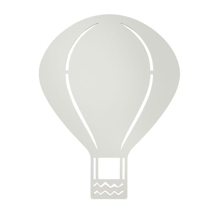 Air+Balloon+Lampe+G4+Led,+Grå,+Ferm+Living