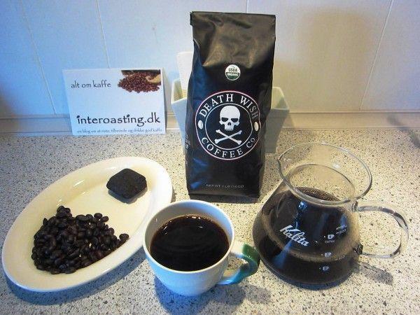 The worlds strongest coffee Death Wish Coffee  Read how it tastes: http://interoasting.dk/verdens-staerkeste-kaffe
