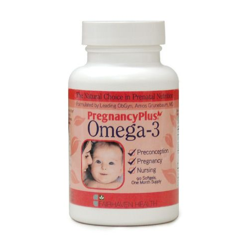 Pregnancy Plus Omega-3, crucial for before, during & after TTC.  NO mercury  $19.95