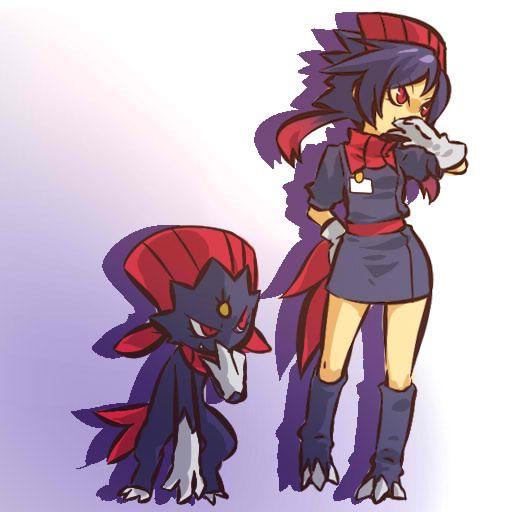 Pokémon - 461 Weavile art by hitec (Sankaku Channel)