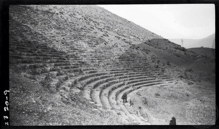 Argos. Theatre. Dorothy Burr Thompson 	 Greece 1923