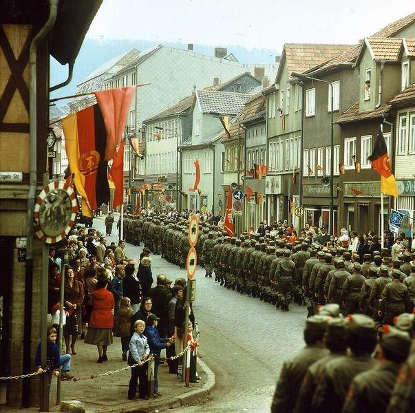 Heiligenstadt - Kampfgruppenaufmarsch, 1983 | Foto: Uwe ...