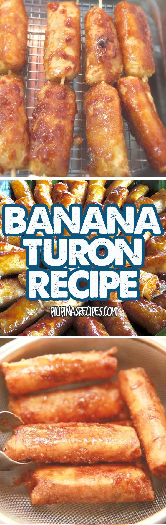 "Turon is a common dessert or snack food in the Philippines. Many ""Street Food"" Vendors also sell it because it's popular among Pinoys."