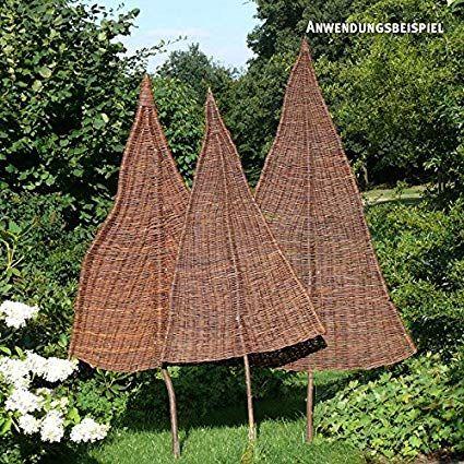 VIDEX Privacy Willow Tree, Natur, Mittel, Ca. B: 80 cm x H: 220 cm (davon 75 cm …