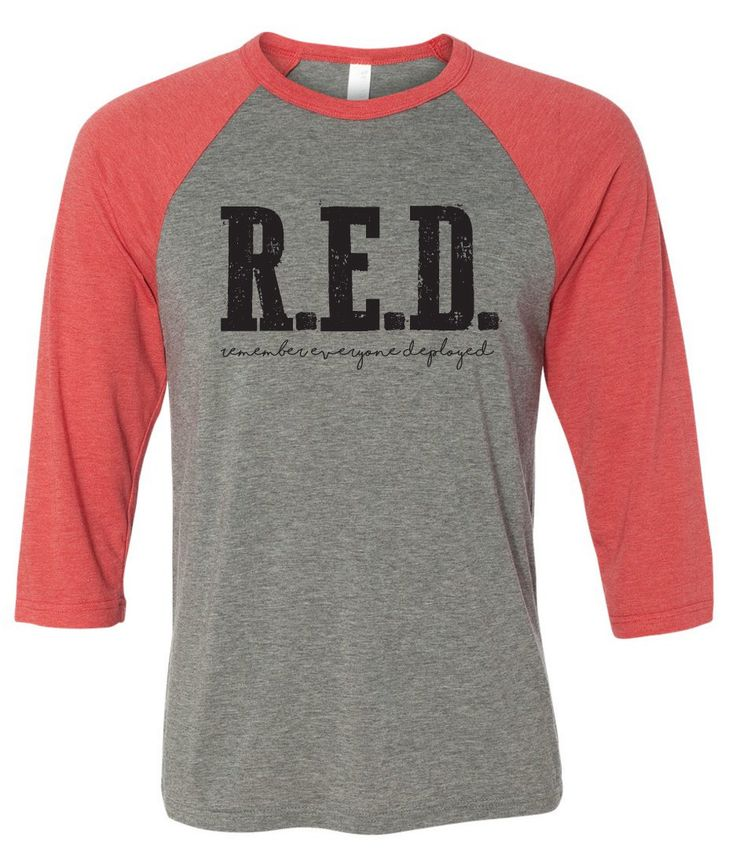 FREE Shipping! Red friday shirt, Remembering everyone deployed, Military wife, fiance, girlfriend, deployed by WearMeGear on Etsy https://www.etsy.com/listing/266004068/free-shipping-red-friday-shirt