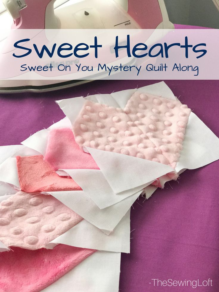 Sweet Hearts Quilt Block 6 Free