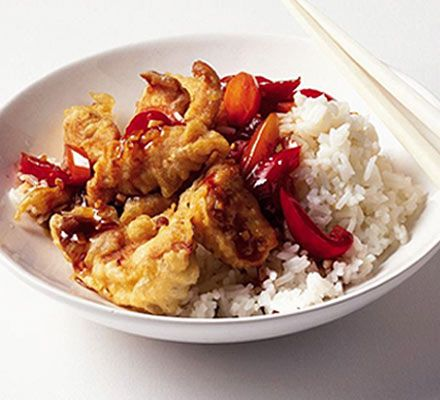 This homemade sweet and sour sauce is so much better than a takeaway. Great with rice or noodles
