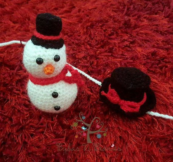 Check out this item in my Etsy shop https://www.etsy.com/au/listing/474014092/crochet-christmas-snowman-stuffie-and