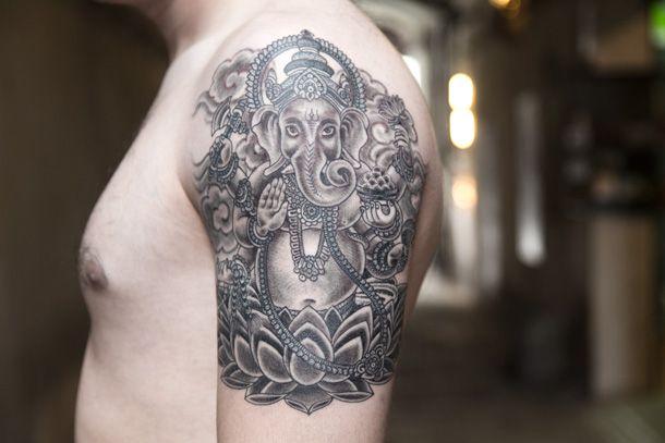 Ganesha, por Jorge Teran