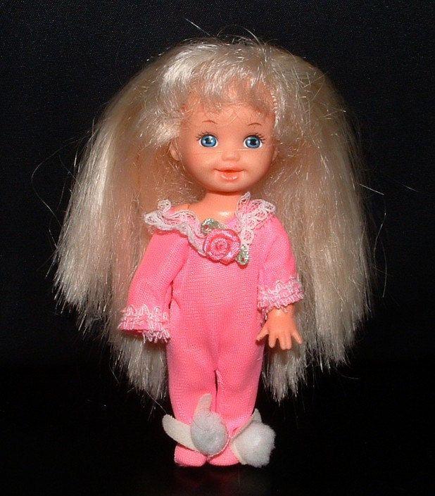 Kelly, Barbie's baby sister.