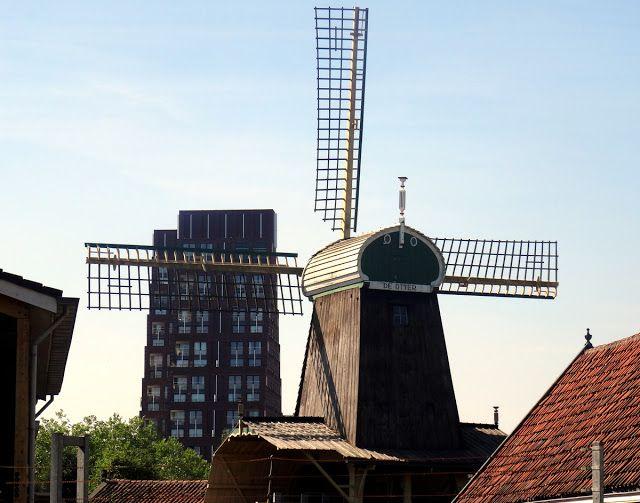De Otter Windmill in Amsterdam West