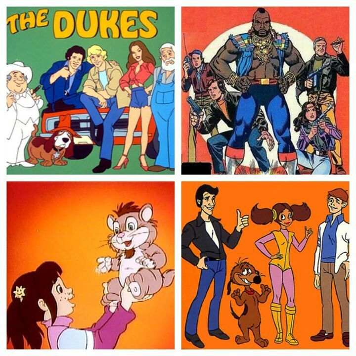 Remember These 80 39 S Cartoons Adapted From The 80 39 S Tv Shows D