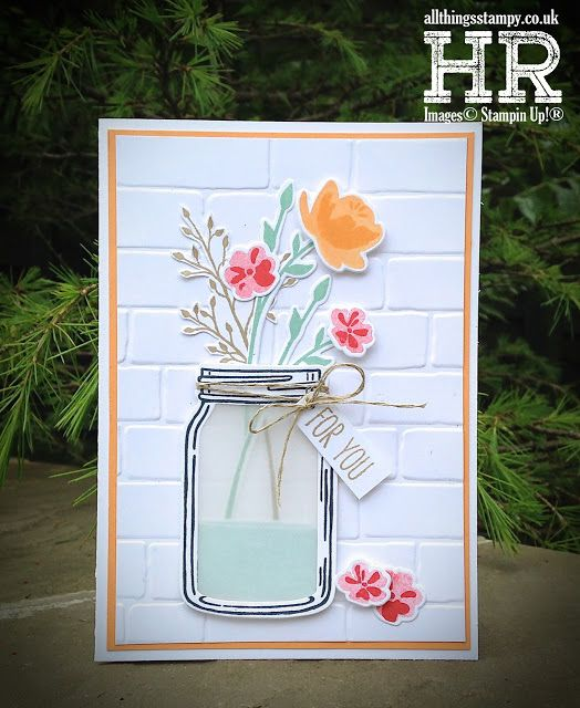 All Things Stampy: Mix It Up Monday: Jar of Love