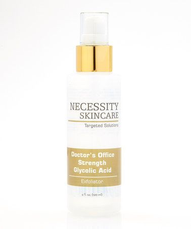 Another great find on #zulily! Doctor's Office Strength Glycolic Acid by Necessity Skin Care #zulilyfinds