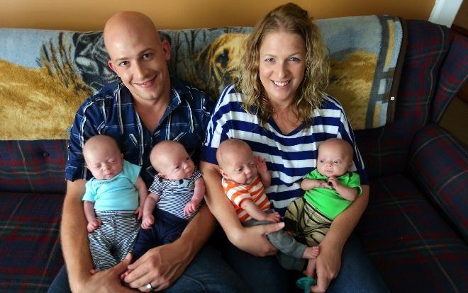 odds of quadruplets