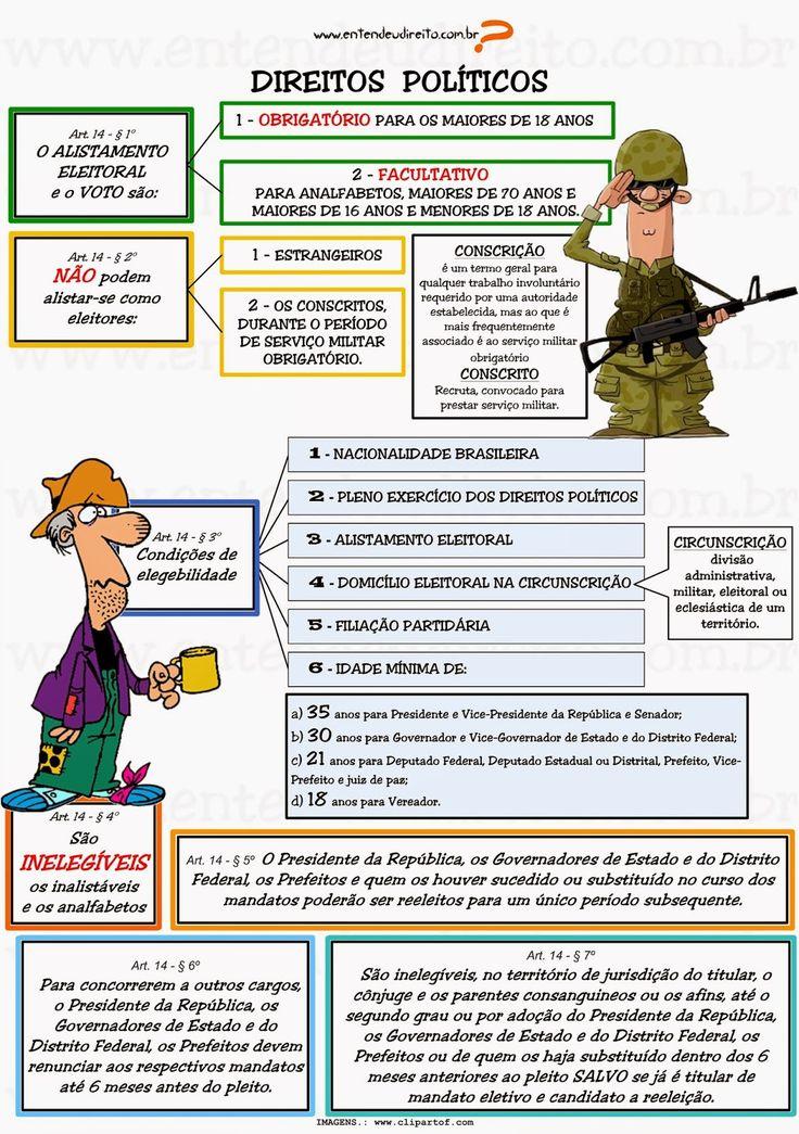 Direitos PolíTicos - Artigos 14 A 17