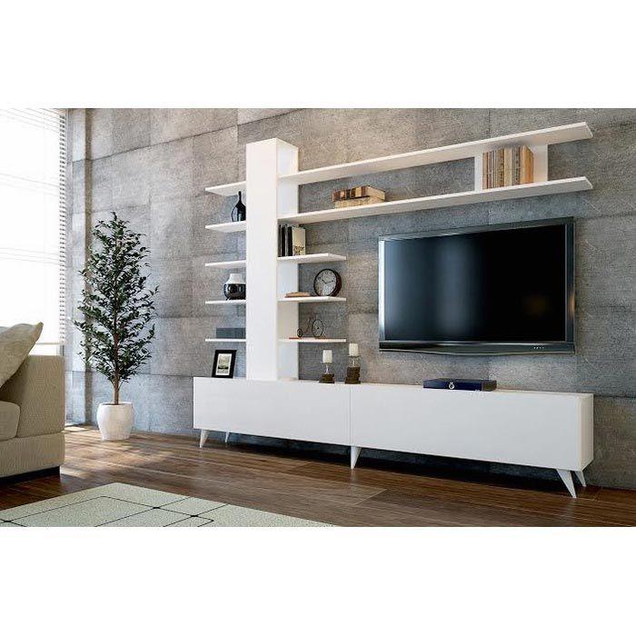 Comfy Home Aleyna Tv Ünitesi - Beyaz