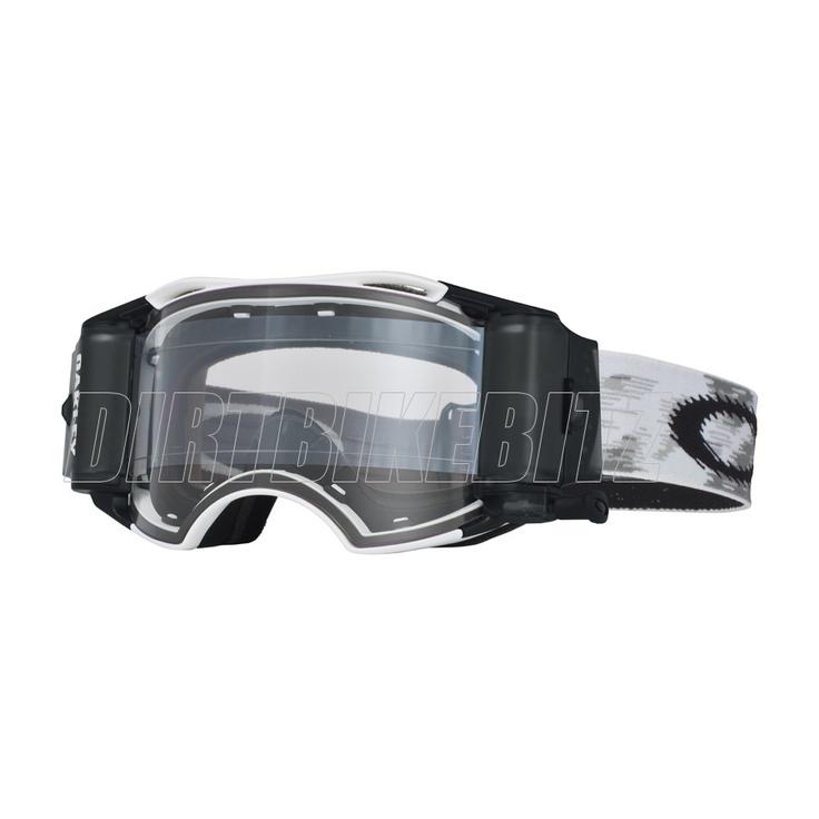 2013 Oakley Airbrake Mx Goggles - Matte White Speed Airbrake Roll-off Goggle - 2013 Oakley Airbrake Mx Goggles - 2013 Motocross