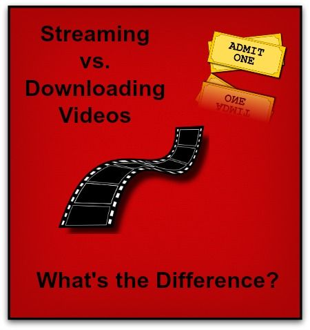 Blog post at The Wonder of Tech : Q. What is the difference between streaming video and downloading video?