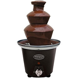 Chocolate Fondue Fountain -- I WANT THIS NOW!