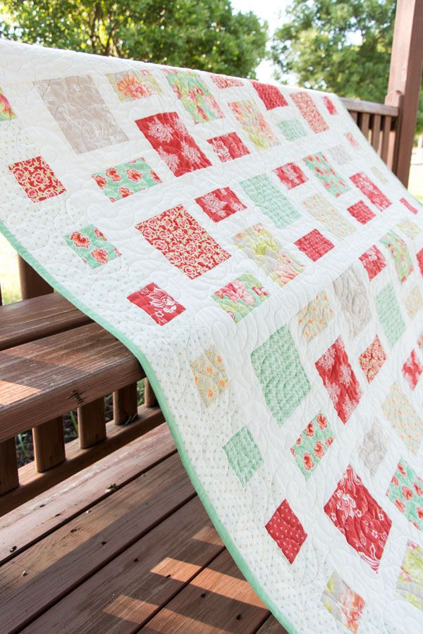 Fat Quarter Style Birthday Celebration: Marquee Quilt