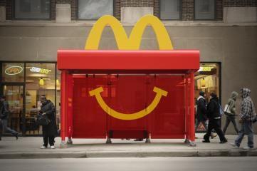 #GoldOBIE #OBIEAwards2015 #McDonalds #OOH