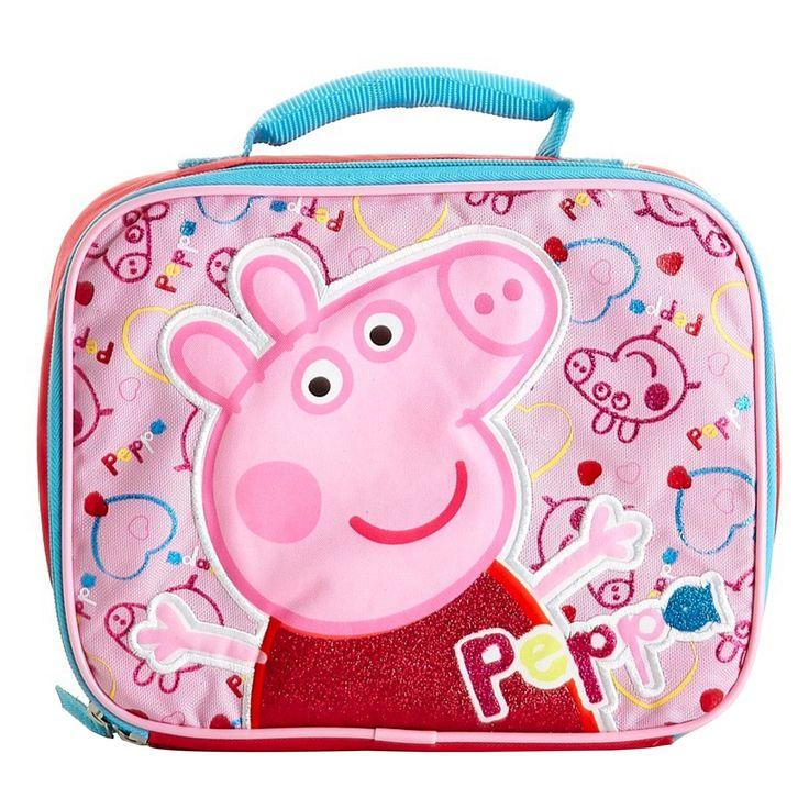 Peppa Pig 9.5 Lunch Box - Pink