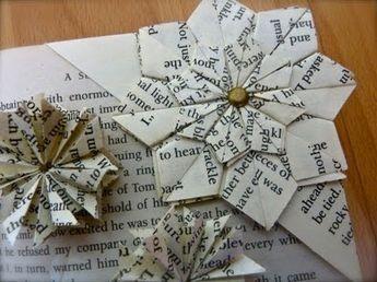 【折り紙】花のブックマーク・しおり | 大人の折り紙インテリア