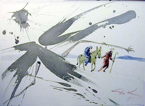 """Ex Aegypto vocavi filium meum"", 1964 von Salvador Dali (1904-1989, Spain)"