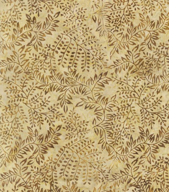 Indonesian Batik Fabric-Natural Branches