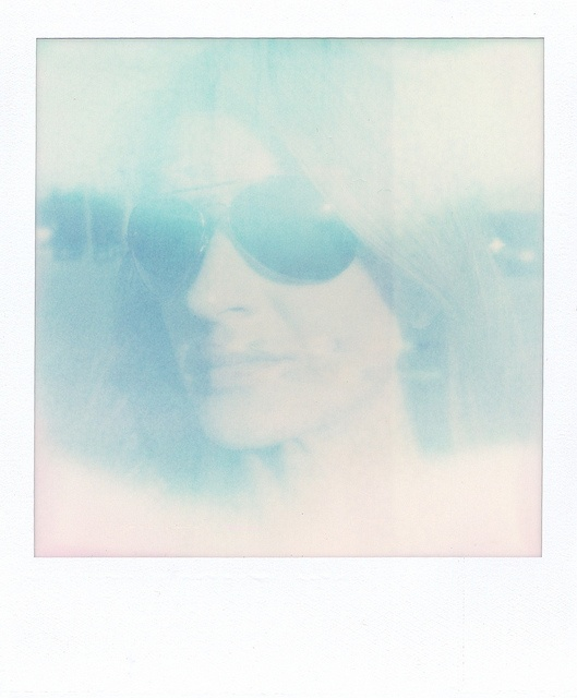 My ghost | Polaroid SX70 - Impossible Project PUSH! film