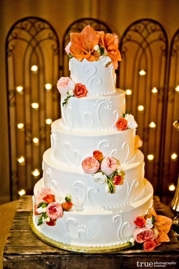 Romantic Wedding Cake 5 Tier Wedding Cake White Wedding Cake 2good2b