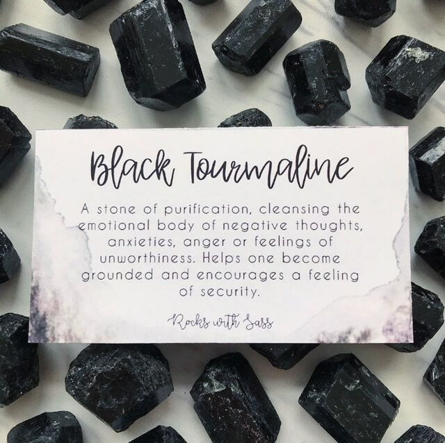 black tourmaline bracelet meaning