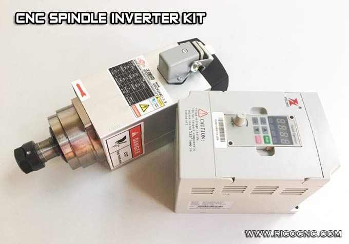 cnc router #spindle #motor and #vfd #inverter #drive kit