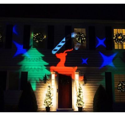 Northlight LED Christmas Light Projector with Remote Control #Christmas #ad #outdoor #lights