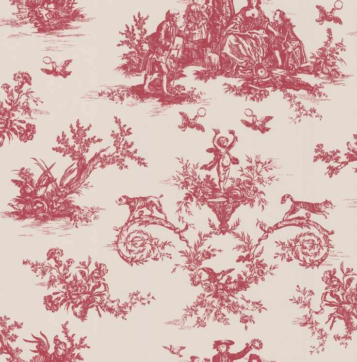 Toile Berry Head wallpaper by Albany