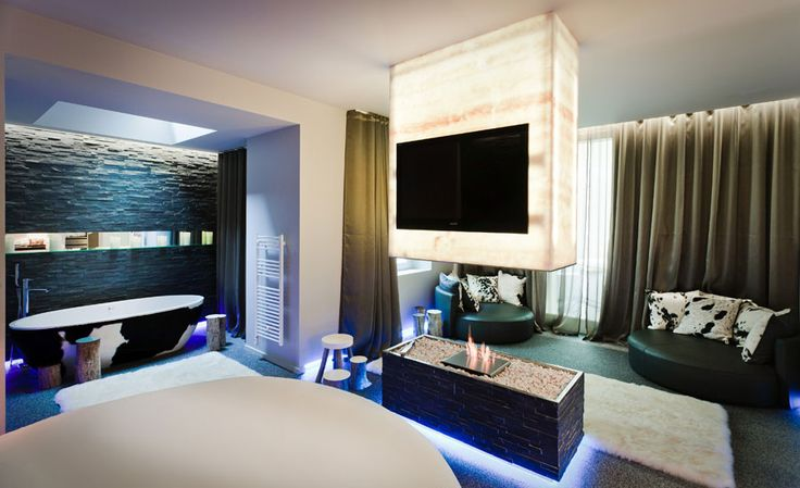 The Seven Hotel - Paris, France - A Paris Boutique Hotel Design