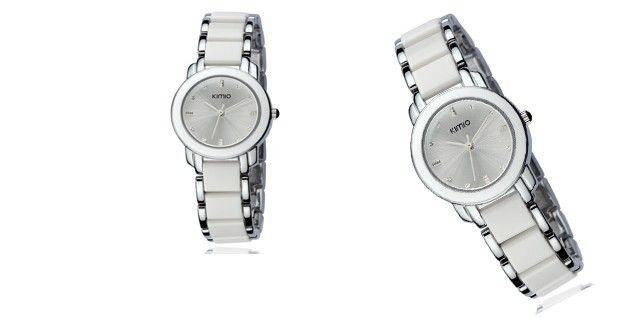 Luxusní hodinky KIMO CERA s kovovo-keramickým řemínkem pro unikátní vzhled a funkčnost! | Sleva hodinek