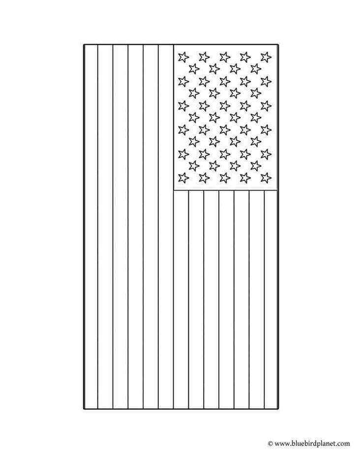 Best 25 American flag coloring