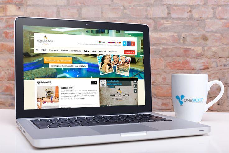 Hotelatlantis- weboldal fejlesztés