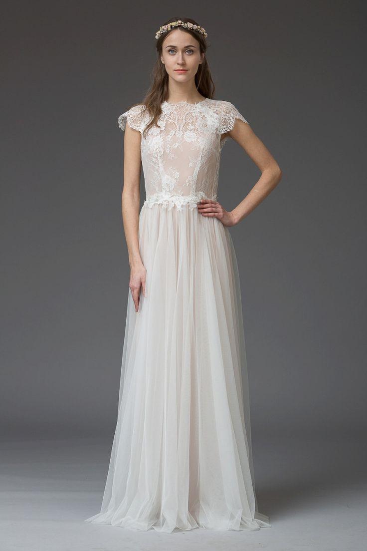 99 best Brautkleid images on Pinterest   Gown wedding, Groom attire ...