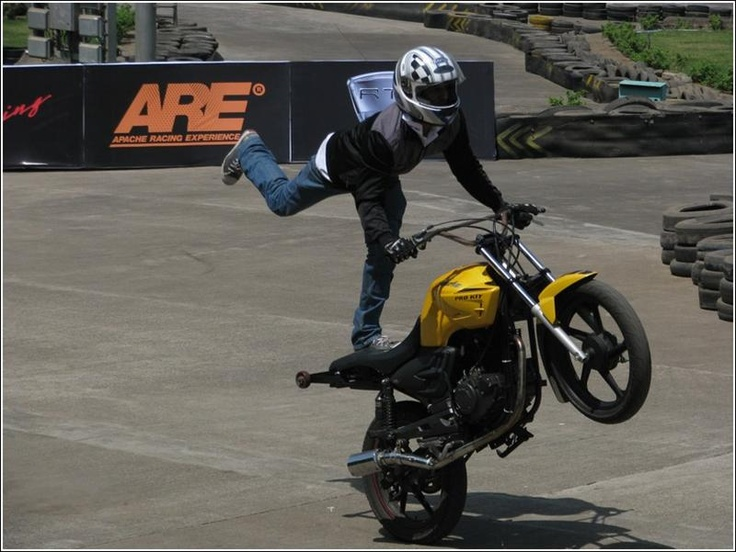 stunts on apache