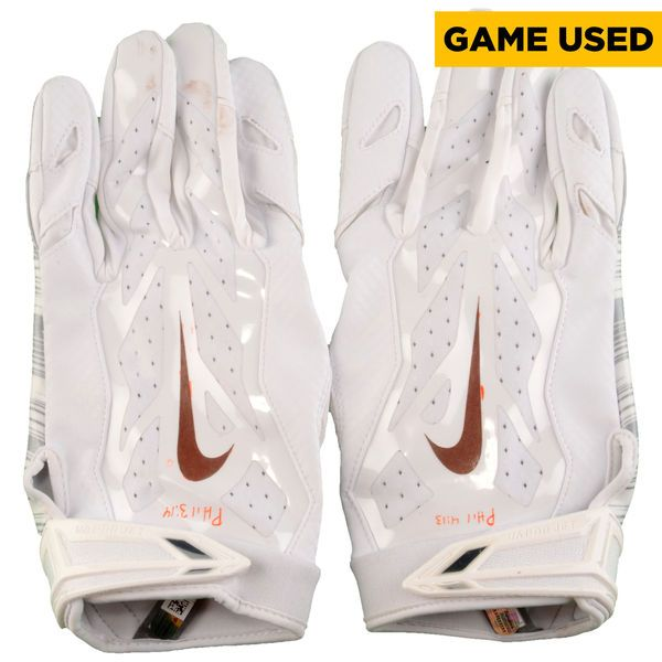 Terrelle Pryor Cleveland Browns Fanatics Authentic Game-Used White Nike Gloves vs Dallas Cowboys on November 6, 2016 - 2 - $299.99