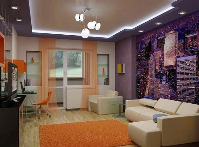 Modern Pop False Ceiling Designs For Living Room 2015 Part 84