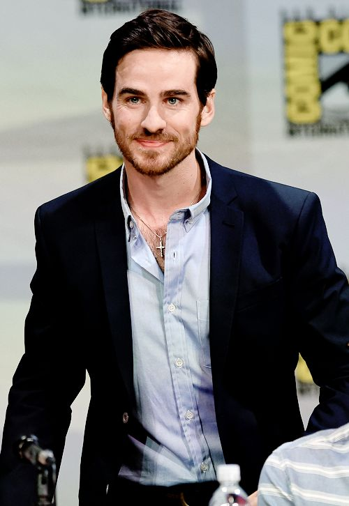 Colin O'Donoghue attends ABC's 'Once Upon A Time' panel during Comic-Con International 2014 at San Diego.