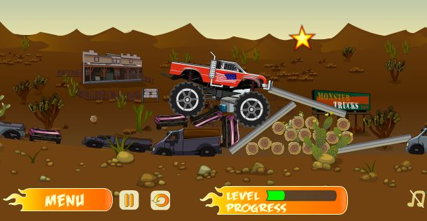 A Mini Monster Truck Is An Automobile Typically Styled After And