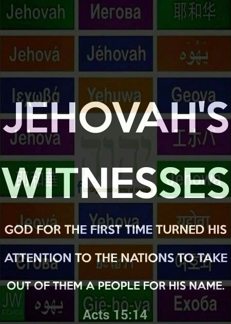 """Isaiah 43:10 """"You are my witnesses, declares Jehovah,..."""""""
