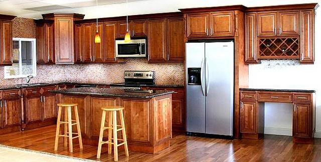 J Premium Mocha by Below Wholesale Cabinets, via Flickr